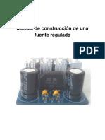 Manual de Operación Para Construcción de Una Fuente de Alimentación