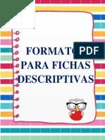 Formatos Para Fichas Descriptivas