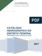 Catálogo Hidrográfico Do DF 2017