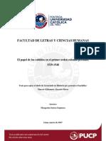 Alarcon Olivos El Papel de Los Cabildos en El Primer Orden Colonial Peruano