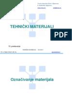 Mašinski Materijali Označavanje Čelika