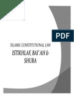 208009_Istikhlaf, Baiah and Shura