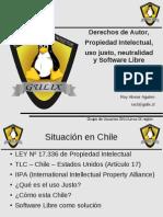 Licencia SL y Realidad Chile 2010