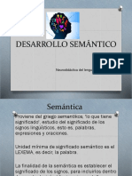 (11)Desarrollo SemáNtico