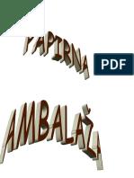 vrste ambalaza
