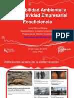 Sostenibilidad Ambiental Competitividad Empresarial Ecoeficiencia 2016