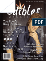 Edibles Magazine - The Awards Issue with Greg Sestero - No. 48