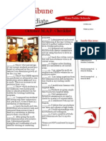 October 10 TOSA Newsletter