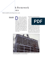 Concrete Construction ArticleCoping With Formwork Specifications