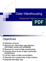 Intermediate Datawarehousing Concepts