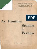 Livro - As Famílias Studart e Pereira