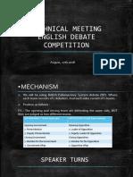 Technical Meeting (Eng)