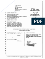 Greenwald v Ripple 8/8/18 Removal to Fed Crt