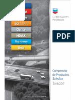 Chevron Salesfax Spanish