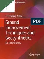 Ground Improvement Techniques and Geosynthetics - IGC 2016 Vol.2
