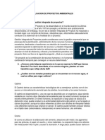 Trabajo 1 Formulacion y Evaluacion de Proyectos