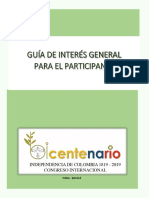 Guía de Interés General.Congreso Bicentenario