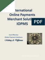 IOPMS Merchant Services Training I