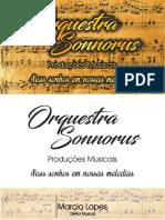 Cartão Orquestra Sonorus