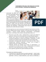 Valoración de La Fundamentación Legal Para Impulsar Acciones de Inclusión en La Escuela y Procesos de Aprendizaje