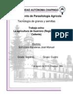 Agricultura en el estado de Guerrero