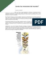 Lectura Se están agotando los minerales del mundo.docx