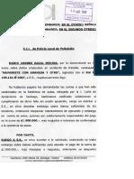 Embargo - Bienes - Depositario Provisional