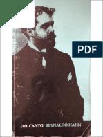 Reynaldo Hahn - Del Canto 1.pdf