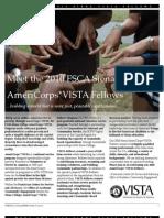 Meet the '10-'11 Siena College AmeriCorps*VISTA Fellows