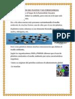 La Contaminacion Del Plastico y Sus Consecuencias