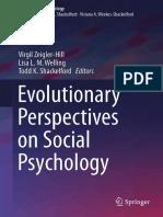 [Evolutionary Psychology] Virgil Zeigler-Hill, Lisa L. M. Welling, Todd K. Shackelford - Evolutionary Perspectives on Social Psychology (2015, Springer).pdf