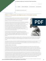 Dádiva na Educação_ paradigmas para a formação humana _ Revista Construir Notícias