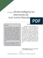 o Problema Indigena No Marxismo