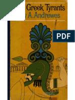 Antony Andrewes - Greek Tyrants