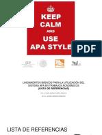 APA (Lista de Referencias) (1)