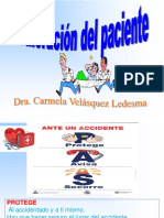 2° SEMANA EVALUACION DEL ACCIDENTADO