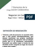 Los 7 Elementos de la Negociación Colaborativa