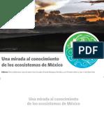 Una Mirada Al Conocimiento de Los Ecosistemas de México ECOS Con Notas