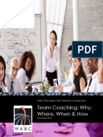 WABC White Paper Team Coaching Why Where When and How Nov 2016