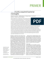 Bacterial Meningitis. Nature Review 2016