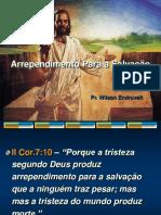 ARREPENDIMENTO PARA A SALVAÇÃO.ppt
