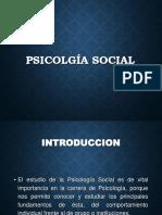 Psicologia Social I