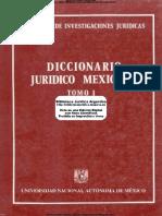 VA - Diccionario Juridico Mexicano Tomo 1 A.B - UNAM - 1a Ed - 1982 - 325.pdf