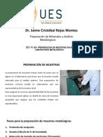 Ec1 f2 a5- Preparación de Muestras en El Laboratorio Metalúrgico