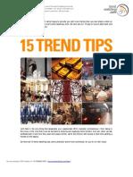 Trend Watching 2010-10 Tips