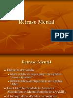 Sesion 9 - Retardo Mental - Tipos