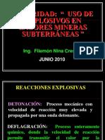 Seguridad (Uso de Explosivos en Mineria)