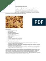 Cara Membuat Peyek Kacang Renyah Dan Gurih