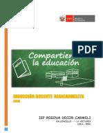 Rdc - Induccion Docente