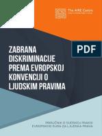 Zabrana Diskriminacije Prema Evropskoj Konvenciji o Ljudskim Pravima (2)